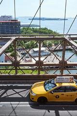 Brooklyn from the Bridge (p-ascoli) Tags: ocean street new york city nyc newyorkcity bridge newyork water brooklyn island manhattan taxis part lane brooklynbridge eastriver governorsisland truss brooklynbridgepark