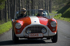 AC (Steph Blin) Tags: old france english classic car sport speed vintage automobile cab fast convertible voiture course route routes roads ac campagne cabrio auvergne rallye touristique cabriolet vitesse chromes 2015 véhicule tourauto anglaise barquette worldcars