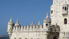 Belem Tower (Seleusleaf) Tags: old stonetower turrets crenelations