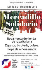 """Cartel del Mercadillo Solidario • <a style=""""font-size:0.8em;"""" href=""""http://www.flickr.com/photos/136092263@N07/27932046853/"""" target=""""_blank"""">View on Flickr</a>"""