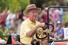 Model T driver - Jacaranda Parade 2015 (sbyrnedotcom) Tags: 2015 people events grafton jacaranda parade rural town nsw australia