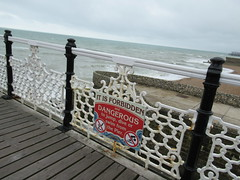 27th, It is forbidden and dangerous IMG_3221 (tomylees) Tags: brighton sussex pier july 2016 27th wednesday