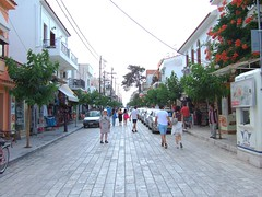 Samos - Pythagorio (John Steam) Tags: samos greece griechenland pythagorio main street pavement new 2010 strasenbelag pflasterung