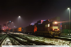 742.212-4 | NEx52522 | tra 331 | Lpa nad Devnic (jirka.zapalka) Tags: train trat331 rada742 cdcargo metrans nex stanice lipanaddrevnici night