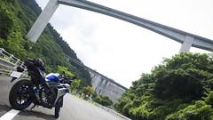 w/R25 (rio_tc) Tags: japan olympus motorcycle yamaha pro saitama f28 em1 1240mm yzfr25