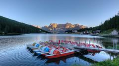 Lago di Misurina (Wilflingseder) Tags: italy landscape lago nikon scenery italia raw outdoor di nebbia plain paesaggio belluno dolomiti veneto misurina bellunesi