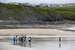 Walk Away (David Abresparr) Tags: beach strand lahinch ireland