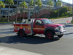 LACoFD 51 (Emergency_Vehicles) Tags: los angeles county fire department lacofd 51 patrol ford f550 nbc universal studios