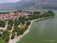 Castle and lake Pamvotis (Ioannis Papastavros) Tags: ioannina