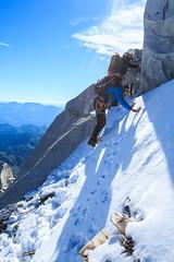 La Paretina di Neve (Roveclimb) Tags: mountain montagna alps alpi alpinismo car caralto adamello trentino tione pelugo borzago mountaineering alpinism viacerana montecaralto adventure