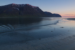 Midnight Sun in the West Fjords (AnniversaryRoad) Tags: 2am canon60d europe holt iceland tamron westfjords beautiful blue canon cold dream fjord fjords hills hour magic magichour midnight midnightsun mountainside perfect sky sun sunset water waves