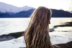 (Bronte Lockwood) Tags: pure new zealand wanaka hippie girls tree lake mountains travel river pastel blue sky clouds climb free feeling scarf