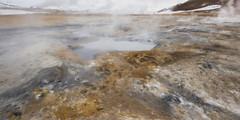 Gunnuhver Geothermal area - Iceland (Robert Phan Photography) Tags: colour steam sulfur bacteria vents 1530 gunnuhver nikond810 gunnuhvergeothermalarea wwwrobertphanphotographycom