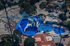 Dolphin Stadium at SeaWorld San Diego CA (mbell1975) Tags: sandiego california unitedstates us dolphin stadium seaworld san diego ca sea world cal calif usa america american park parc zoo aerial view water pool