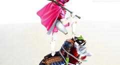 DSC_1786edtitle (Okamidensetsu) Tags: toy toys momo ranger figure bandai sic powerrangers sentai takumidamashii toyphotography momoranger supersentai blindbox sictakumidamashii