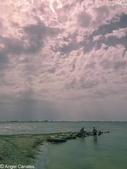 Lluvia a lo lejos (anluca1) Tags: angelluiscanales fotografia iphone6s lugares marmenor naturaleza otraspalabrasclave
