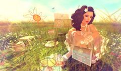 Dream Garden (irrie Ember { irrie's Dollhouse }) Tags: irriesdollhouse lostfound dreamgarden originalmesh gacha vintage retro antique secondlife