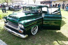 1959 Chevrolet (bballchico) Tags: 1959 chevrolet pickuptruck custom satanschauffeurscc alvingarnica westcoastkustomscruisinnationals cruisinnationals santamaria carshow