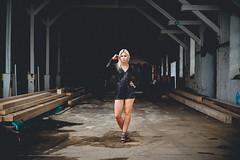 Jess. (Sophist_) Tags: hamburg altona portrait blond girl fashion lagerhalle lostplaces bokeh