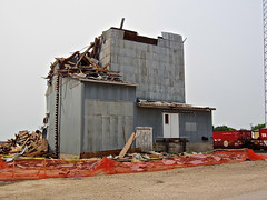 Deconstruction, Scranton, IA (Robby Virus) Tags: demolish construction destruction elevator grain demolition iowa remove scranton agriculture removal