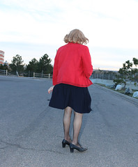 new123458-IMG_9502t (Misscherieamor) Tags: transvestite sissy crossdress tgirl transgender travestis travestie travesti tranny tv ts cd tg m2f tgurl gurl mature xdresser feminine femme transformation travestido travestit travestito traviesa transwoman pleatskirt suedejacket windy
