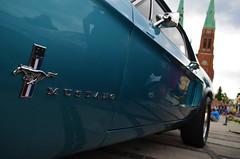 Fastcar (Pinqq94) Tags: mustang blue fastcar rybnik zlot