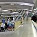 Platform and escalators
