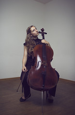Thoughts of a musician (@bythetallone) Tags: cellist cello musician music portrait people studio moody