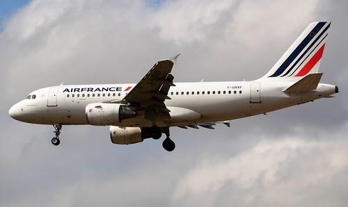 Air France Airbus A319-111 F-GRXF