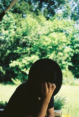 His Shyness (.Kaisu.) Tags: estonia asahipentaxspotmatic asahipentaxspotmaticspii analogue kodak kodakektar100 ektar filmphotography vintageanalogue industar502 industar 35mm m42