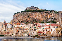 Cefalu (Kevin R Thornton) Tags: d90 landscape travel sicily architecture italy 2016 city nikon cefalu cefal sicilia it