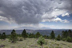 Larb Hollow Overlook, Dixie National Forest, Garfield County, Utah 1 (Chuck Sutherland) Tags: larbhollow overlook storm clouds stormclouds dixienationalforest nationalforest grandstaircaseescalantenationalmonument garfieldcounty utah ut
