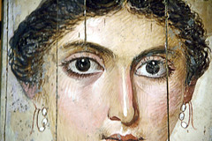 Face from the Past (EmperorNorton47) Tags: thelouvre paris iledefrance france photo digital autumn fall interior romanegypt funeraryimage mummy woman