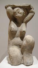Amedeo Modigliani, Caryatid, c. 1914 (Sharon Mollerus) Tags: museumofmodernart newyork unitedstates