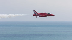Low Arrow (Phal44) Tags: canon 7d2 7d mk2 200400 200400mm jet plane airplane red arrow eastbourne airbourne airshow