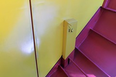 IMG_0095 (www.ilkkajukarainen.fi) Tags: veivi portaat rappuset väri colour futuro ellips ellipsi modern design scandinavian suomi finland europa eu mattisuuronen fiberglass polyester acrylic casafinlandia composites 1968 espoo museum emma museo musée museet