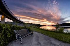 Coucher de soleil du 09-08-2016 (gaudreaultnormand) Tags: 2016 canada chicoutimi coucherdesoleil quebec riviere saguenay saguenayriver sunset wow