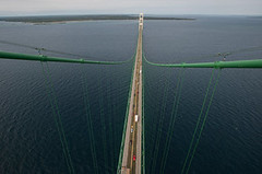 Mackinac Bridge traffic hits milestone for first time in 11 years (michiganapparelts) Tags: livnfreshcom mackinac bridge traffic hits milestone for first time 11 years