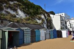 Beach Huts 2 (John A King) Tags: beach huts broadstairs kent