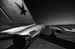 Cold War Sentinel (Phil Ostroff) Tags: mig17 russian aviation aircraft airshow heart texas waco