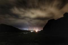 Power (garethleethomas) Tags: loghts canon longexposure sky night clouds power refinery