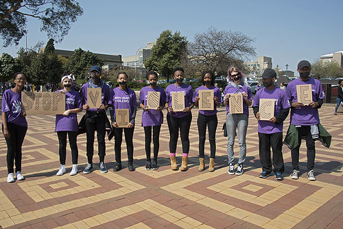 Silent Protest: Johannesburg SA - August 17, 2016