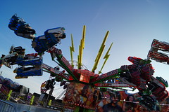 DSC02220 (A Parton Photography) Tags: fairground rides spinning longexposure miltonkeynes fireworks bonfire november cold