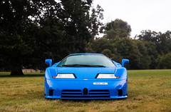 EB110 Supersport (Aimery Dutheil photography) Tags: bugatti bugattoeb110 eb110 eb110supersport supersport ettorebugatti w16 turbo blue italian supercar 90s salonprive blenheimpalace exotic fast speed amazing london canon70d