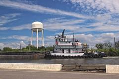 Golden Meadow, Louisiana (Shane Adams Photography) Tags: canon boat louisiana bayou coastal tugboat gulfcoast lafourcheparish goldenmeadow canonrebel3ti ilobsterit