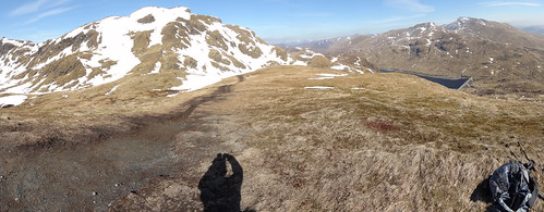 View of Meall nan Tarmachan and Ben Lawers range
