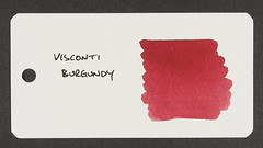Visconti Burgundy - Word Card