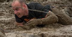 Men in Black 1 (stevefge) Tags: people netherlands sport nijmegen mud nederland viking modder berendonck strongviking