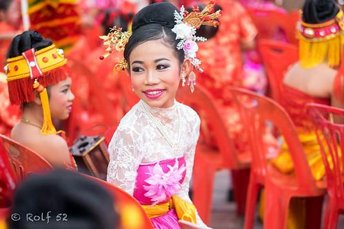 Chinese New Year celebration in Hua Hin