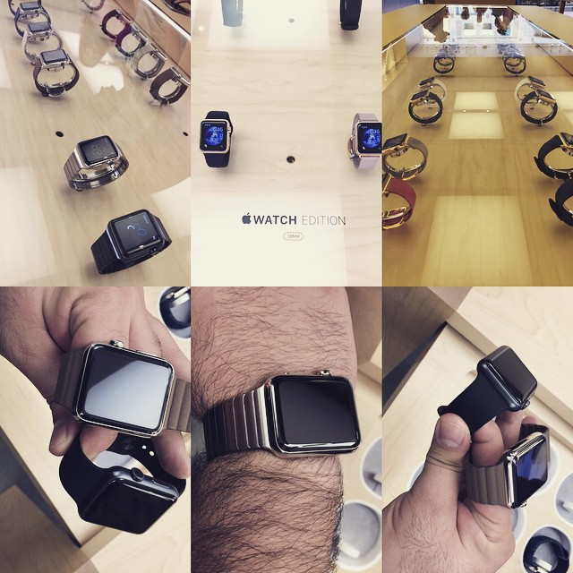 The APPLE WATCH is here #apple #applewatch #watch #iwatch